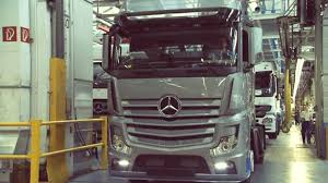 mercedes actros mercedes actros production
