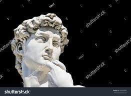 David Sculpture Detail Closeup Michelangelos David Statue On Stock Photo 164981849