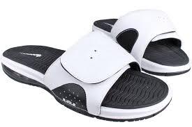 cheap new style nike air lebron slides flops white black 487332