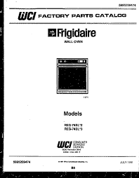 frigidaire reg74bl3 wall oven timer stove clocks and appliance