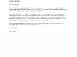 cover letter revised awesome cover letter architecture firm 20