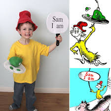 Dr Seuss Characters Halloween Costumes Green Eggs U0026 Ham Costume Dr Seuss Green Eggs Hams Costumes