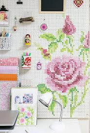 cool cross stitch diys apartment therapy