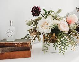 faux floral arrangements faux floral etsy