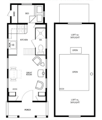 house plans for small house floor plans for small houses modern open plan tiny house on wheels