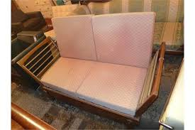 a heals oak day bed by parker knoll circa 1930 with later
