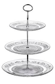 3 tier stand all home 3 tier clear glass cake stand reviews wayfair co uk