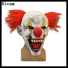 jester mask 2017 new scary clown mask horror masquerade