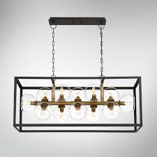 decor linear chandelier from eurofase for dining room and kitchen