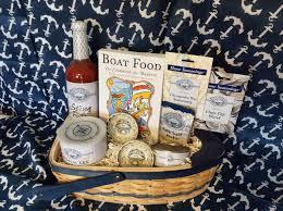 Nautical Themed Giveaways - the outdoor epicurean u2013 keepsake nautical gift baskets