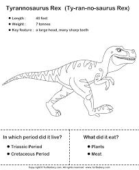 simple dinosaur facts kids worksheet turtle diary