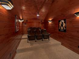 home theater master 3 master suite luxury cabin with private ho vrbo