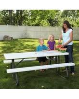 Lifetime Folding Picnic Table Amazing Deal On Lifetime Folding Picnic Table 60105 6 Foot Dark