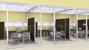 glass wall door systems beyond by allsteel architectural wall systems office furniture