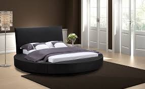 amazon com oslo round captivating contemporary round bed home