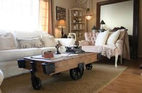 Wooden Coffee Table With Wheels by Modern Interior Design With Coffee Tables On Wheels Emphasizing