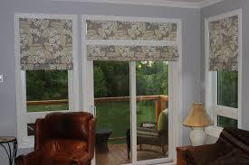 patio doors imposing roller blinds on patio doors picture