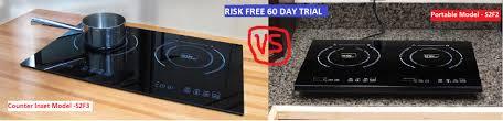 Best Induction Portable Cooktop True Induction Ti 2c Vs True Induction Ti 2b U2013 Double Burner