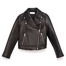 all black motorcycle jacket leather jackets for fall at all prices glamour