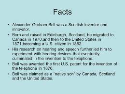 facts about alexander graham bell s telephone mathew reinhart science core ppt download