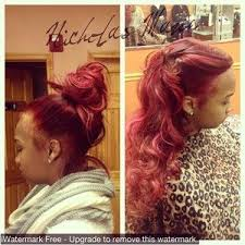 vixen sew in on short hair 36 best hair images on pinterest prom goals beds and candy drinks