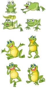 9 best images of leaping frog stencils printable cartoon frog