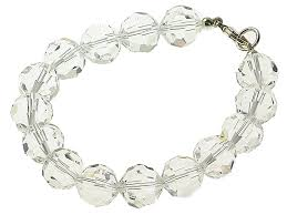 sterling silver crystal bracelet images Sterling silver edith clear crystal glass bracelet crystal jpg