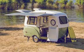 Retro Campers by You Have To See Inside This Retro Inspired Mini Camper Trailer