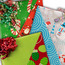 cheap christmas wrapping paper reversible christmas wrapping paper