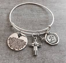 baptism charm bracelet lord s prayer matthew 6 9 13 baptism scripture faith