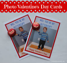 diy personalized photo valentine u0027s day cards with peanut butter