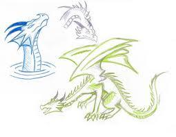 gentle dragon sketches by northwolf89 on deviantart