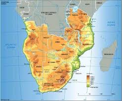 africa map kalahari desert brian white galleries