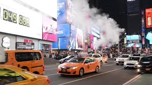 new york ny november 26 downtown times square during