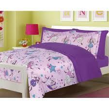 Purple Comforter Set Bedding Twin by Girls Bedding Twin 5 Pc Fairy Princess Purple Comforter And Sheet