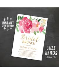 brunch bridal shower invites deal alert printable bridal shower brunch invitation wedding