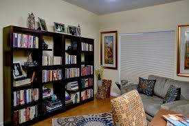 Home Office With Sofa Pull Out Sofa Bed Home Office Contemporary With Bookshelves Gold