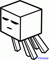 coloring pages free coloring pages of minecraft ghast minecraft