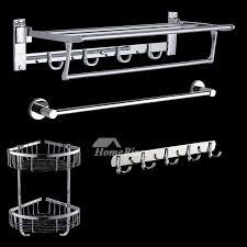 Silver Bathroom Accessories Sets Bathroom Accessories Set Stainless Steel