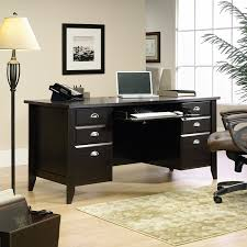 Sauder Office Desk Sauder Shoal Creek Executive Desk In Ash