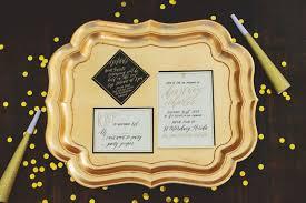 Black Gold Wedding Decorations Black U0026 Gold New Year U0027s Eve Wedding Ideas Every Last Detail