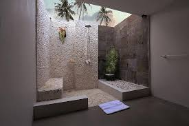 Open Shower Bathroom Semi Open Bathroom With Shower Picture Of Living Asia Resort And