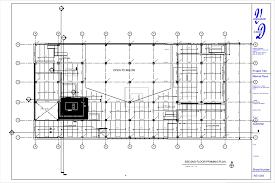 Floor Framing Plan Cantoro Market Bldg System 2 Sheet Ag1 003 2 Nd Floor Framing