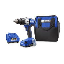 shop kobalt 24 volt max 1 2 in cordless brushless drill at lowes com