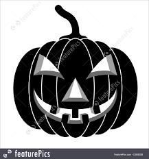 halloween black pumpkins for halloween vector stock