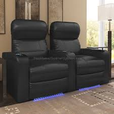 home theater seating fortress californian home theater seating in black seatup homes