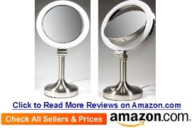 best rated lighted makeup mirror best lighted makeup mirror reviews ever 2016 sqweeble