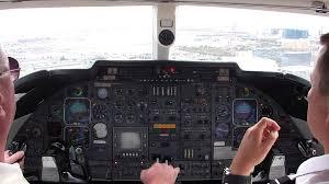 lear 55 landing las vegas youtube