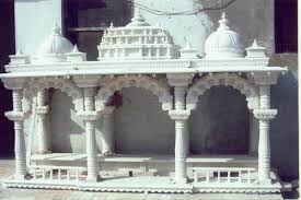 Marble Pooja Mandir Designs For Home