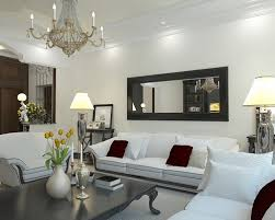 Decorating With Mirrors Large Wall Decorating Ideas For Living Room For Lovely